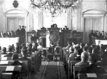 Dichiarazione dell'Indipendenza nel 1918. Fonte: Wikipedia