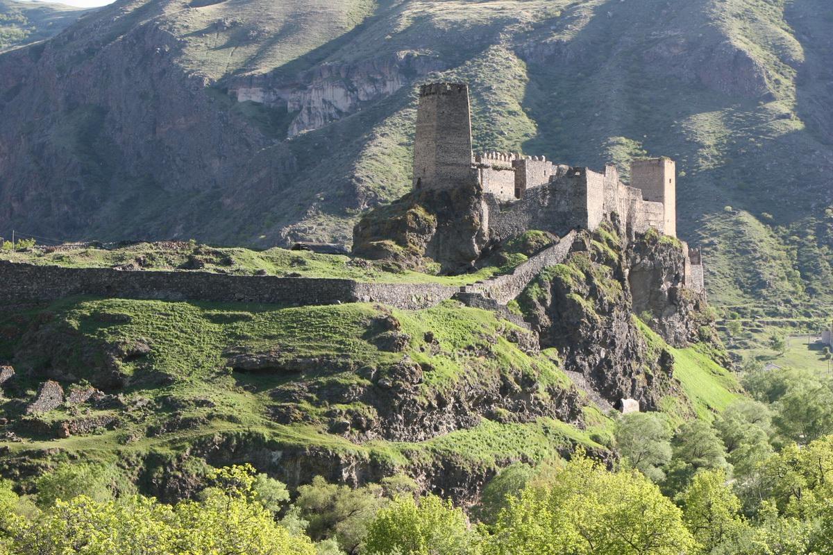 La fortezza di Gonio-Apsaros. Fonte: cypis.pl