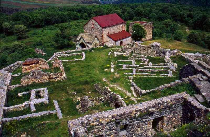 I resti dell'insediamente medievale di Dmanisi. Foto: dmanisi.ge
