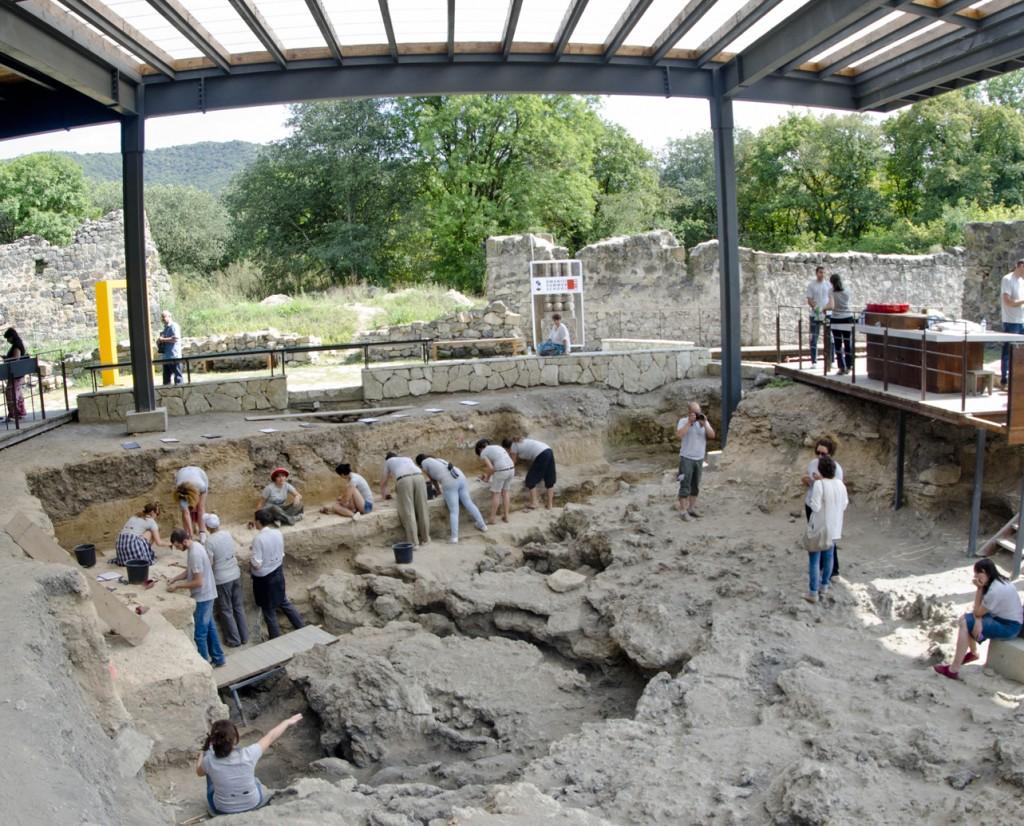 Sito archeologico - museo di Dmanisi Foto: sciencemag.org