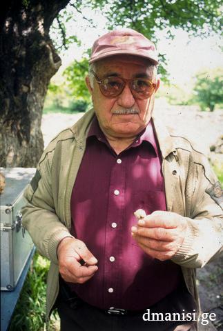 Paleontologo Prof. A. Vekua Foto: dmanisi.ge