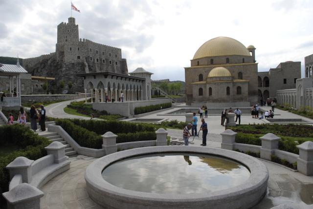 All'interno del Castello di Rabati. Foto: georgiaabout.com