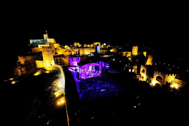 Concerto di Charles Aznavour al Castello di Rabati. Foto: georgiaabout.com